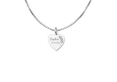 KAYA jewellery Engraved Charm Communion Jewellery