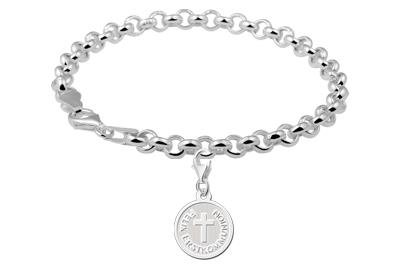 KAYA jewellery Sterling Cross 1st Communion Charm