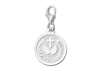 KAYA jewellery Engraved Charm 1st Holy Communion