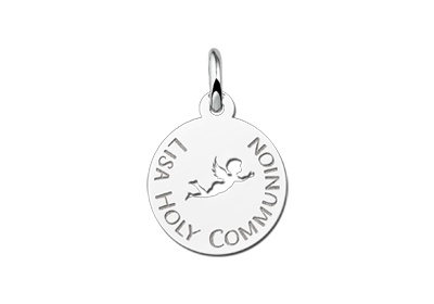 KAYA jewellery Angel Engraved Communion Pendant