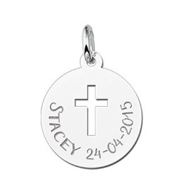 KAYA jewellery Names4ever First Communion Pendant Cross Gift