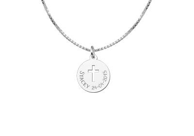 KAYA jewellery First Communion Pendant Cross Gift