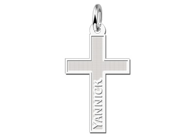 KAYA jewellery Silver Communion Gift with Cross