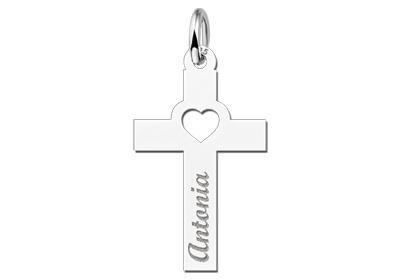KAYA jewellery Holy Communion Gift Cross with Name