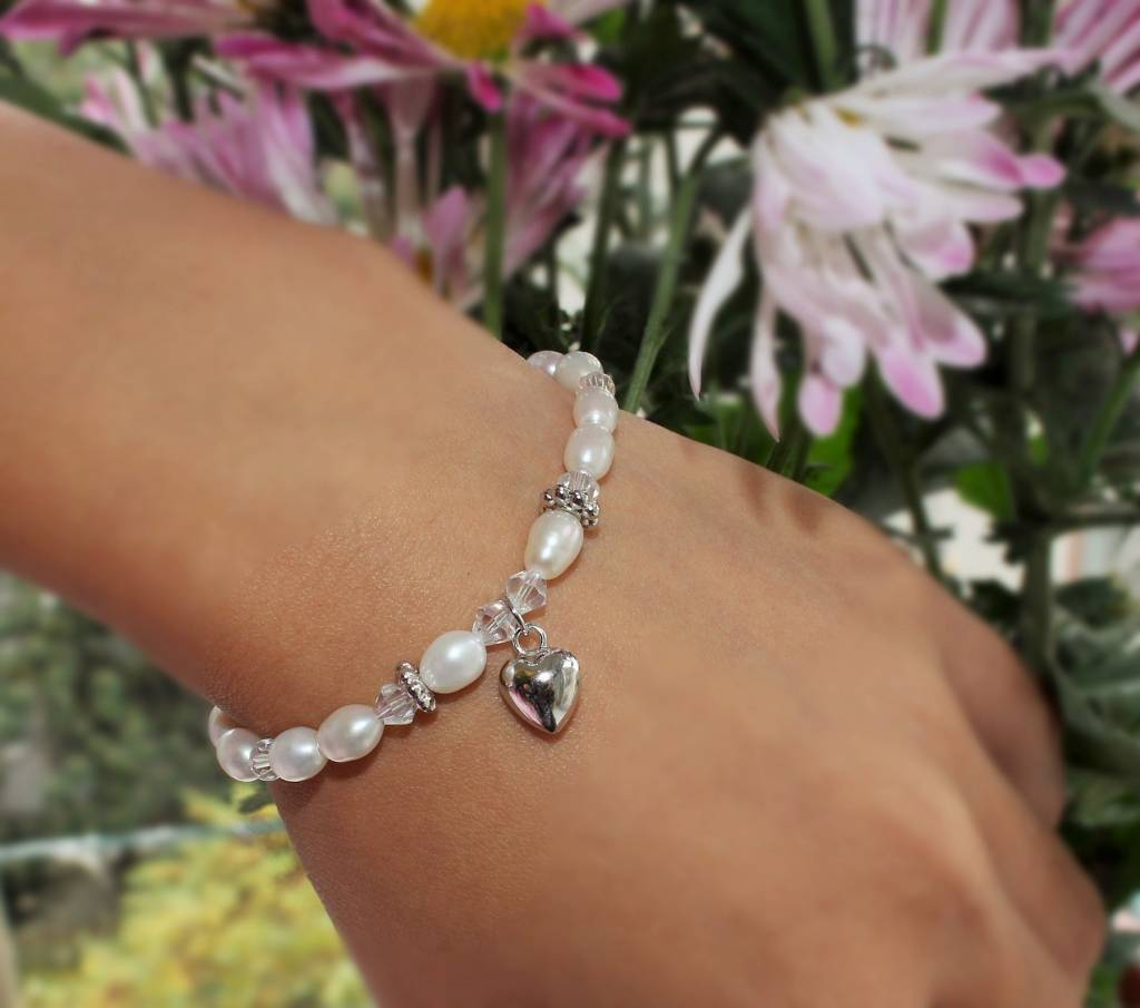 KAYA jewellery Silver Mom & Me Set 'Sparkles' Key to My Heart