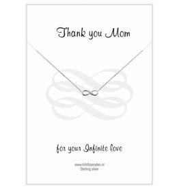 KAYA jewellery Jewellery Card 'Thank you Mum'