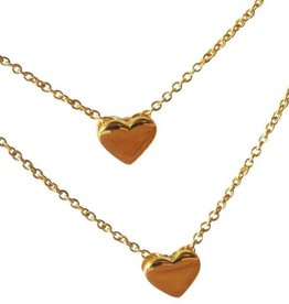 KAYA jewellery Mum & Me Necklaces 'Heart of Gold'