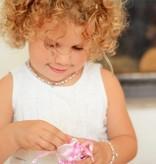 KAYA jewellery Mom & Me bracelets 'Infinity Pink' with butterflies