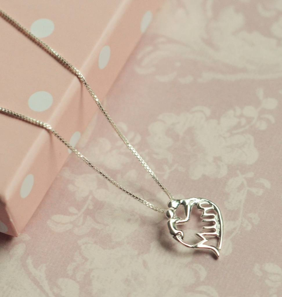 KAYA jewellery Silver Necklace 'Mum'