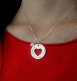 KAYA jewellery Mom and two daughters ' You stole my Heart '+ Pearls