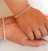 KAYA jewellery Trendy silver bracelets, mom & me Chain