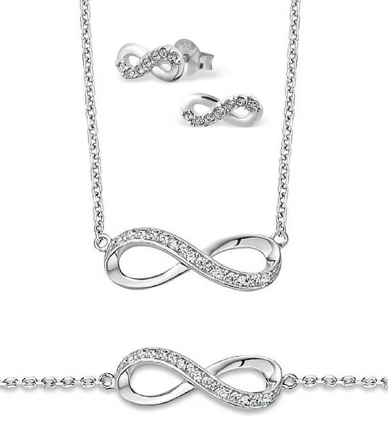 """KAYA jewellery 3 Generations Silver Infinity Sets """"You are Loved to Infinity"""""""