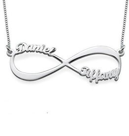 KAYA jewellery Silver Infinity necklace 'Close to my Heart'