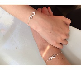 "KAYA jewellery Silver Bracelet ""You are loved for Infinity"""