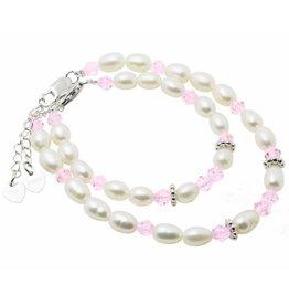 KAYA jewellery Sterling Silver Mom & Me bracelet set 'Little Diva'