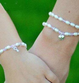 KAYA jewellery Silver Mom & Me Bracelet 'Little Diva' with Key-Lock