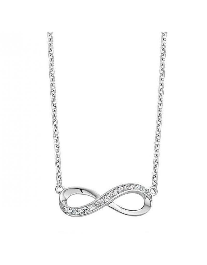 "KAYA jewellery Silver Infinity Mum Bracelet ""Two Children"""