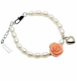 KAYA jewellery Girls Bracelet 'Flower' with Heart