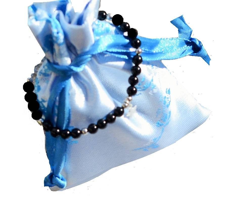 "KAYA jewellery Children's bracelet ""Black Onyx"""
