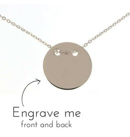 KAYA jewellery Silver Necklace 'Eternity' for Mum