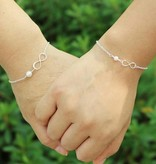 KAYA jewellery Silver Ladies Bracelet 'Speechless'