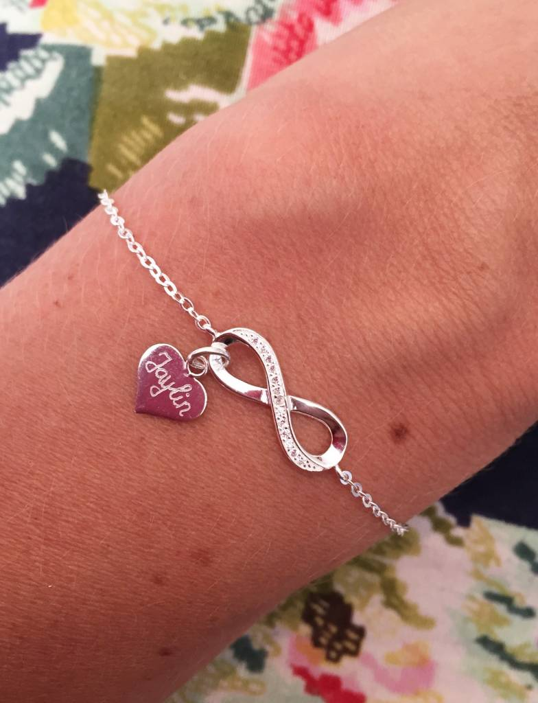 "KAYA jewellery Silver Infinity Bracelet ""Forever With Me"""