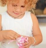KAYA jewellery Children's Silver Rainbow Ear Studs