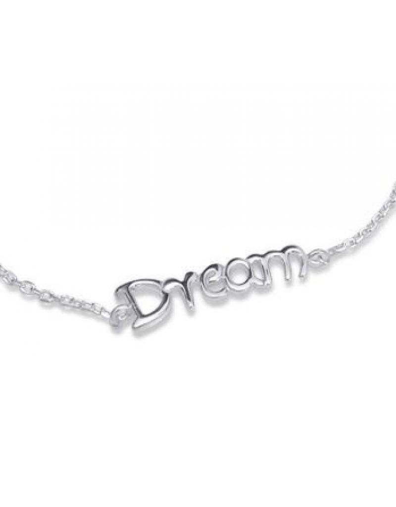 "KAYA jewellery Silver Baby Bracelet ""I Love You To The Moon & Back '"