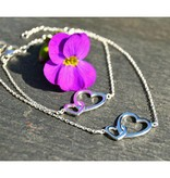 KAYA jewellery Gift Box Silver Mom & Me Bracelets 'Connected'