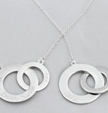 KAYA jewellery Silver Necklace 'Entwined'