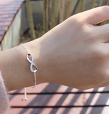 KAYA jewellery Gift Box Silver Bracelets 'Infinity' Mother Daughter