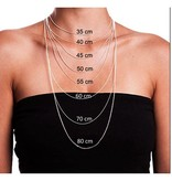 """KAYA jewellery Silver necklace """"Family is a circle of strength and love"""""""