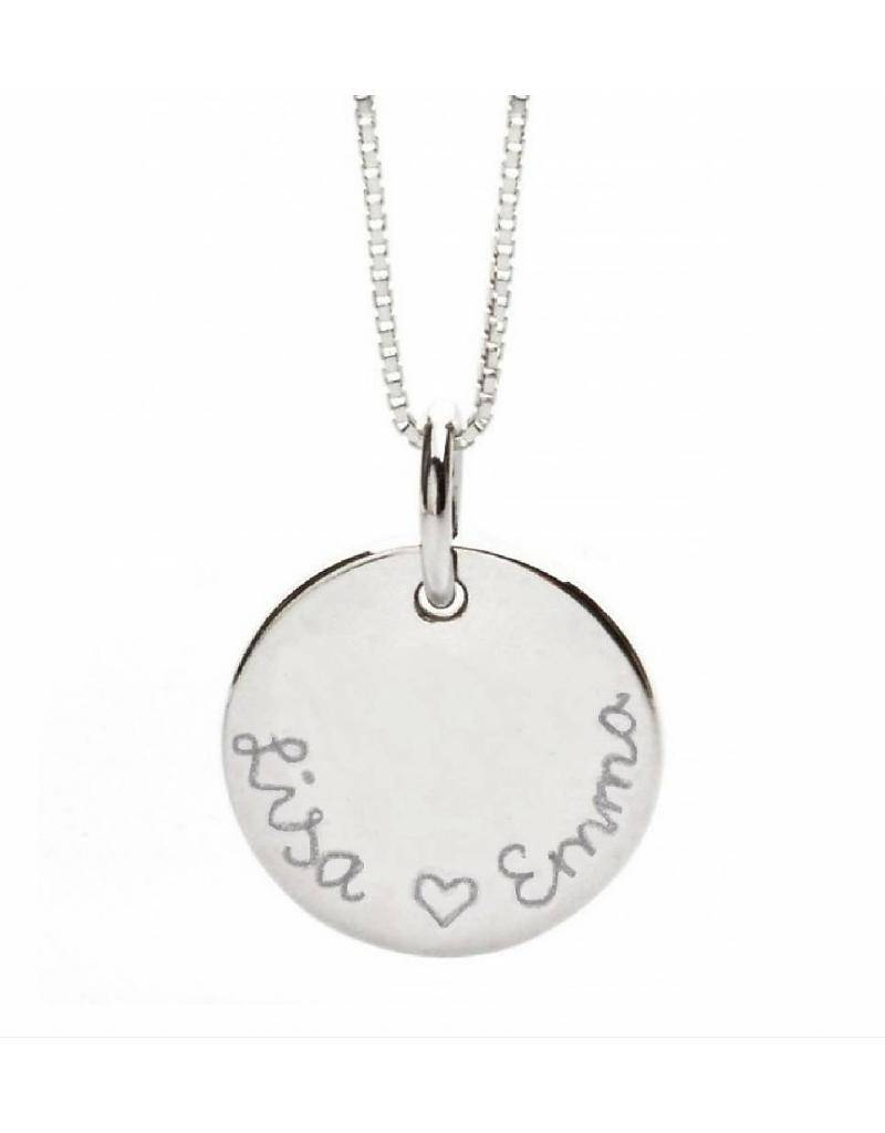KAYA jewellery Silver Necklace 'Round and Round'