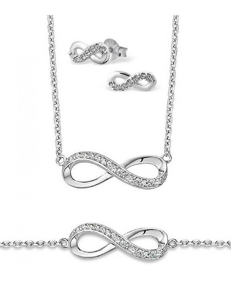 KAYA jewellery Silver set 'You hold the Key to my Heart'