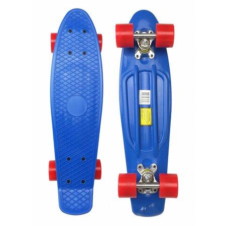 2Cycle 2Cycle - Skateboard - 22.5 inch - Blauw-Rood
