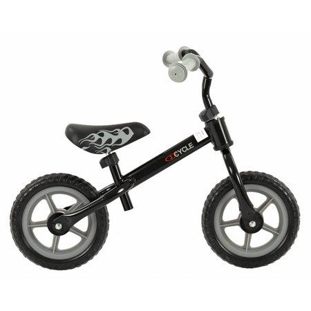 2Cycle 2Cycle Loopfiets - Zwart-Grijs