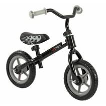 2Cycle Loopfiets - Zwart-Grijs