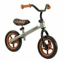 2Cycle Loopfiets - Zilver-Bruin
