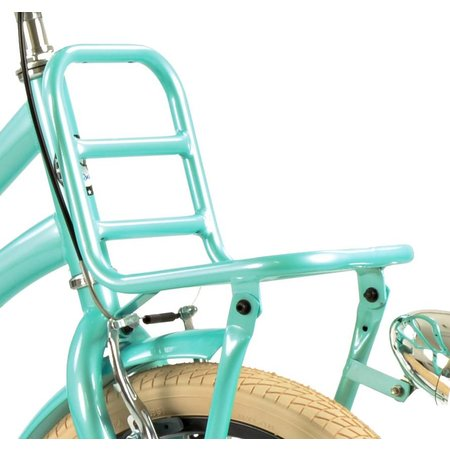 2Cycle Meisjesfiets 18 inch Turquoise met Voordrager (1881)