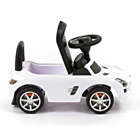 Mercedes Mercedes-Benz SLS AMG Rutschauto Kinderauto - Weiß