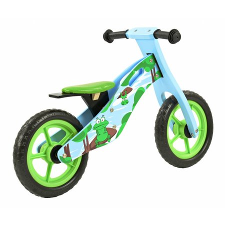 2Cycle 2Cycle Kikker Loopfiets - Hout