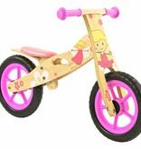 2Cycle 2Cycle Girl Loopfiets - Hout
