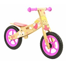 2Cycle Girl Loopfiets - Hout