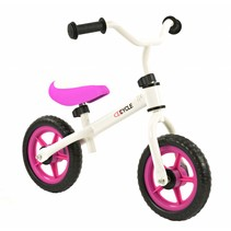 2Cycle Laufrad  Bike - Weiß-Pink