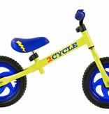 2Cycle Loopfiets blauw-geel (1573)