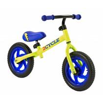2Cycle Loopfiets - Blauw-Geel