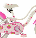 2Cycle 2Cycle Strawberry Kinderfiets - 16 inch - Wit