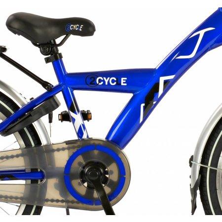 2Cycle Jongensfiets 20 inch Nitro Suspension blauw (2001)