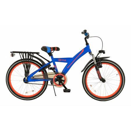 2Cycle 2Cycle Ronin Kinderfiets - 20 inch - Blauw-Oranje