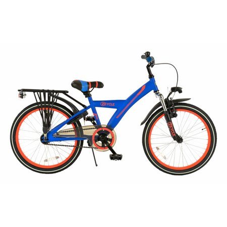 2Cycle Jongensfiets 20 inch Ronin Suspension blauw-oranje (2006)
